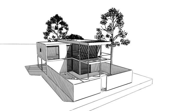 MJ Architecture - Squibb House Concept Design